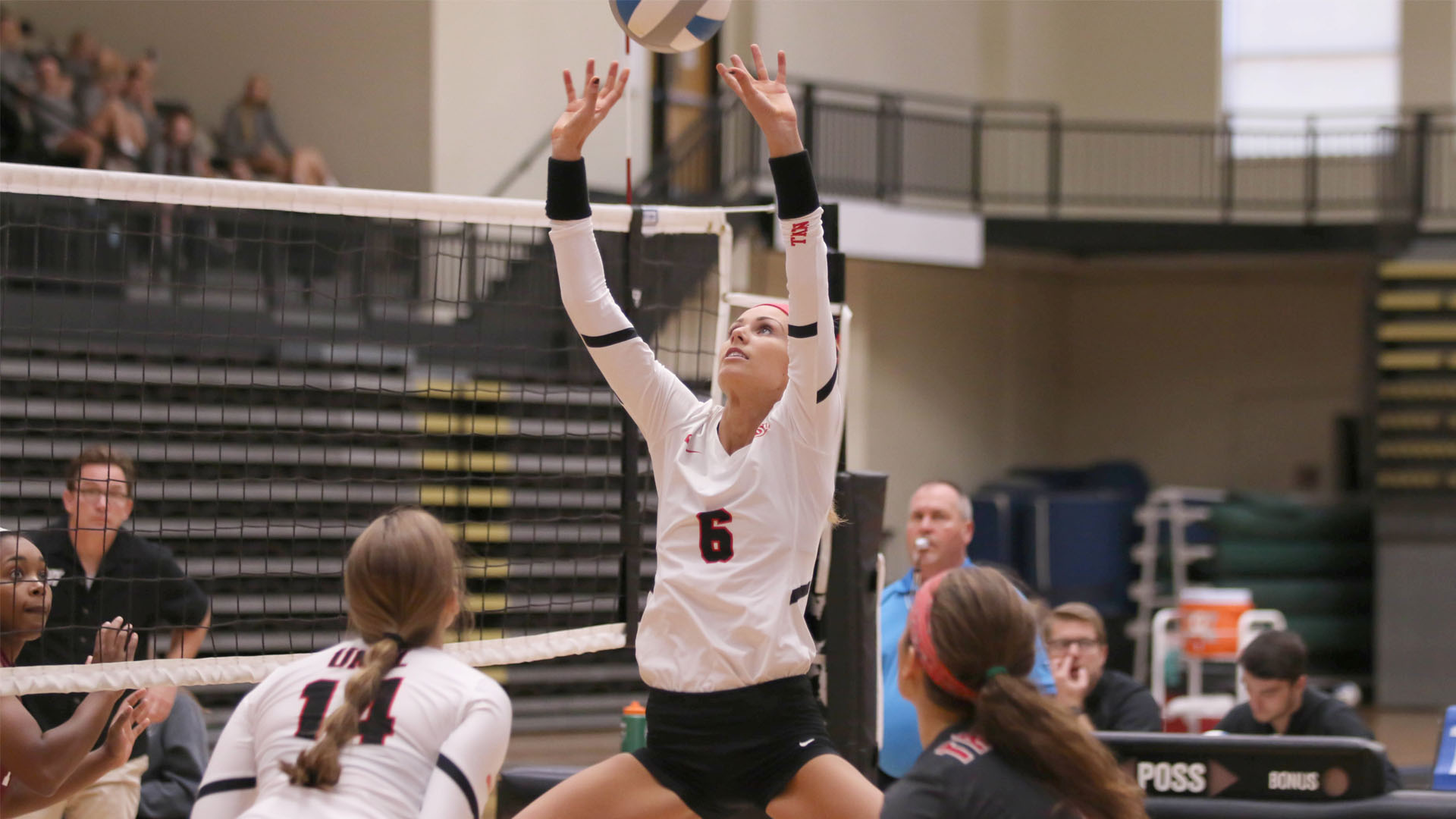Balanced Attack Helps Volleyball to Win Over Davis & Elkins